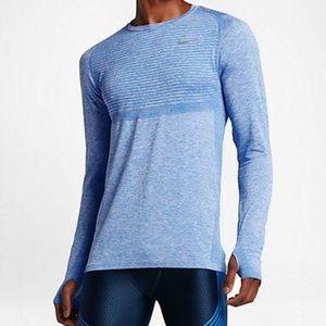 Men's Nike Dri-Fit Long Sleeve Running Shirt
